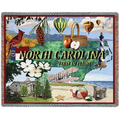 North Carolina 2 Blanket