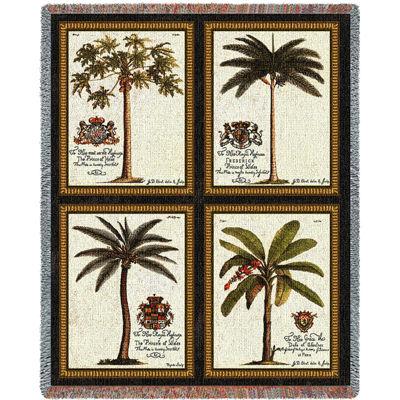 Royal Palms Blanket