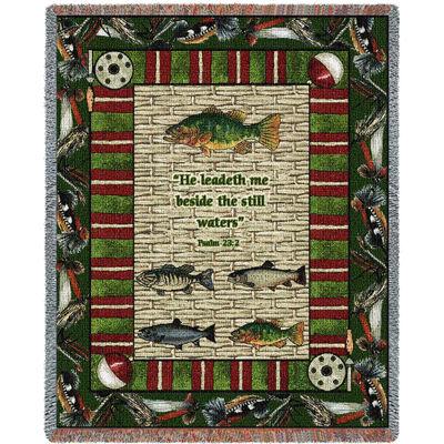 Memorial Gone Fishing Blanket