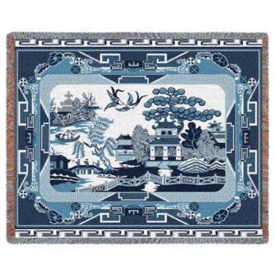 Willow Blue Blanket
