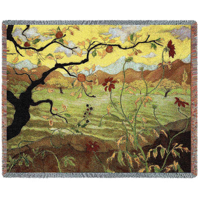 Apple Tree With Red Fruit Blanket