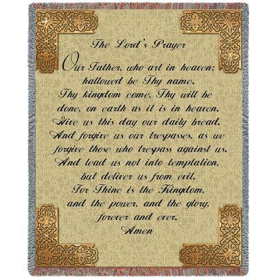 Lord's Prayer English Blanket
