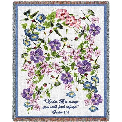 Hummingbird Psalm Blanket