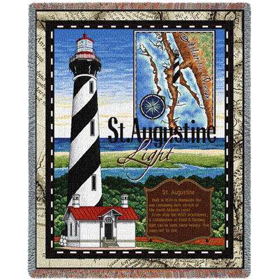 St. Augustine Lighthouse Blanket