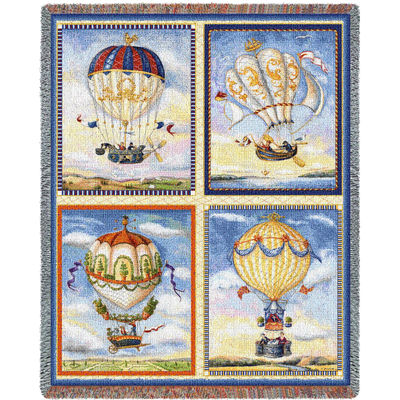 Balloon Collage Blanket
