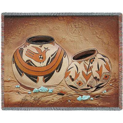 Zuni Pottery Blanket