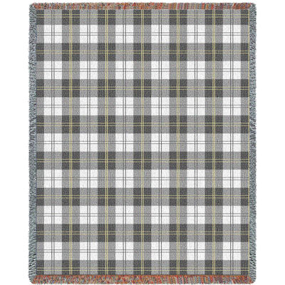 Soft Greyish Plaidw Blanket