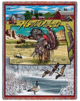 North Dakota 2 Blanket