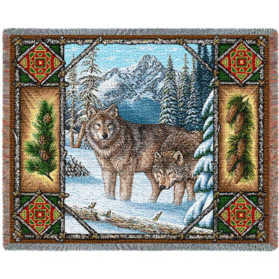Wolf Lodge Blanket