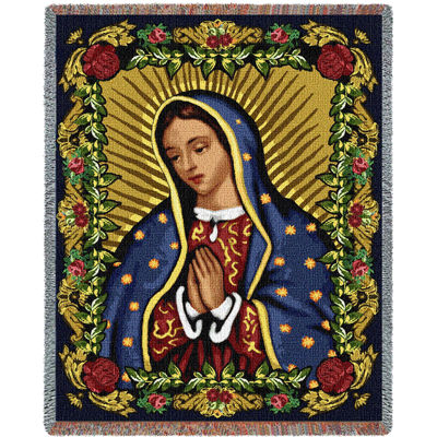 Our Lady of Guadalupe II Blanket