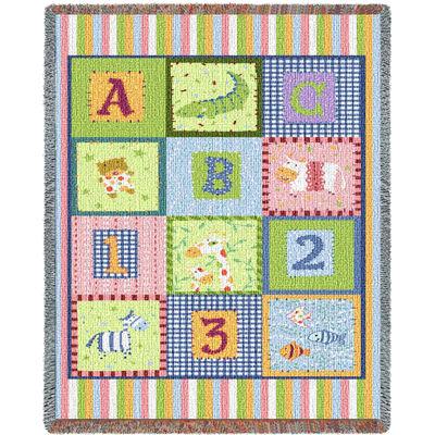 ABC 123 Mini Blanket