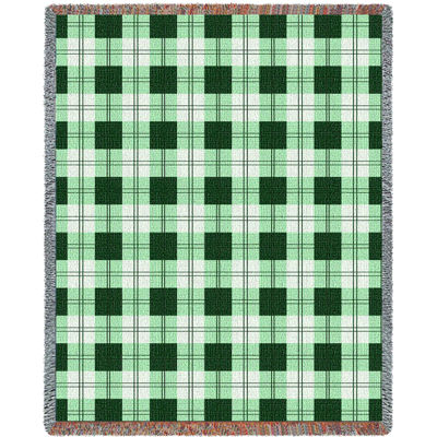 Gooseberry Plaid Blanket