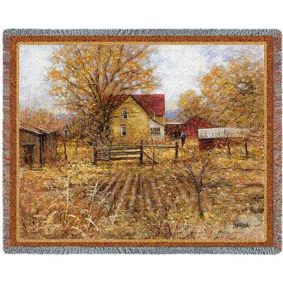 Homestead Tapestry Blanket