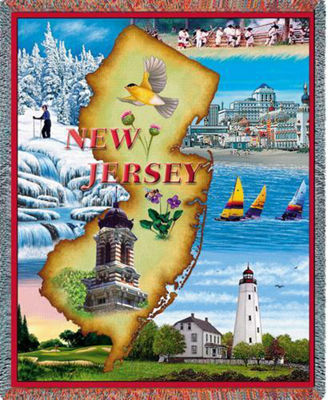 New Jersey 2 Blanket
