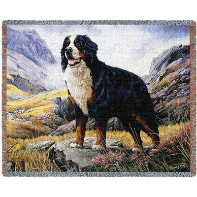 Bernese Mountain Dog Blanket