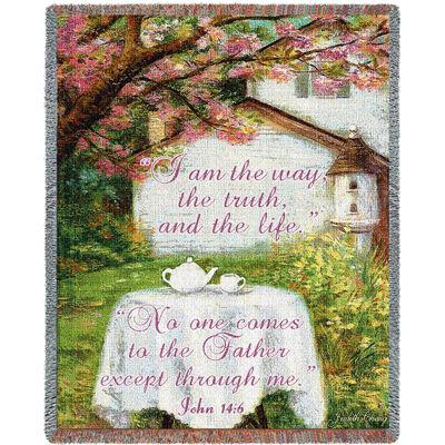 Spring Teatime Blanket