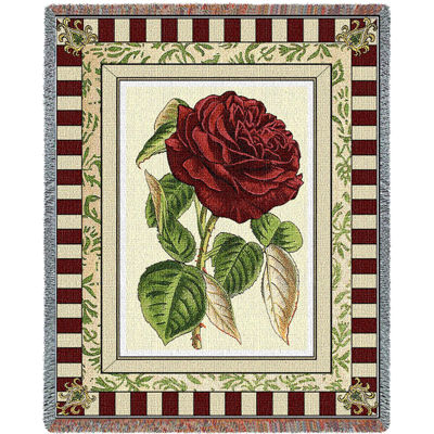 Red Rose I Blanket