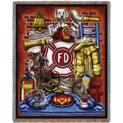 Fireman Pride Blanket