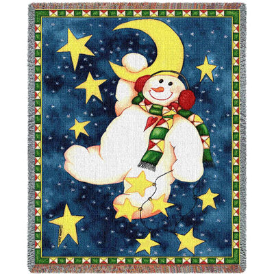 Hanging On The Moon Blanket