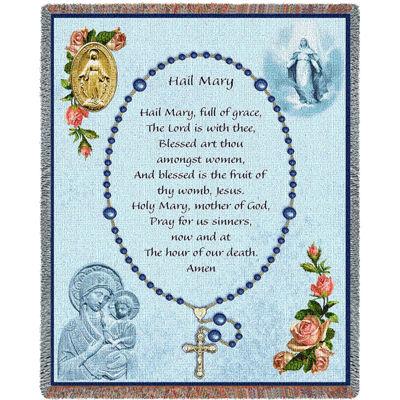 Memorial Rosary Blanket