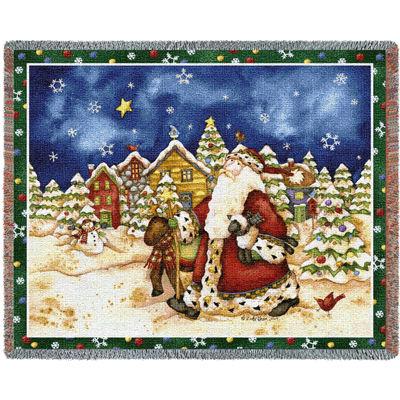 Walking Santa Blanket