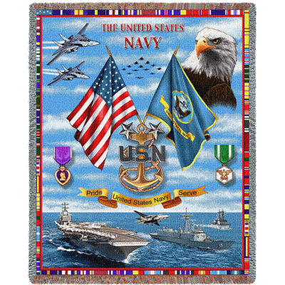 US Navy Sea Power Blanket