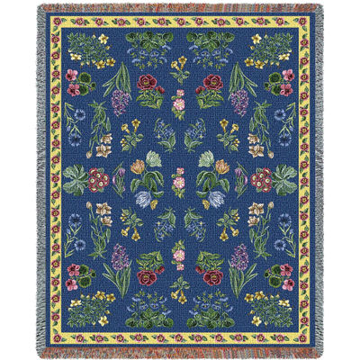 Greysons Floral Blanket