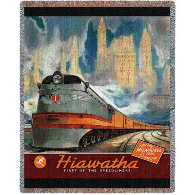 Hiawatha Tapestry Blanket