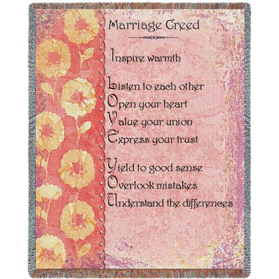Marriage Creed Blanket