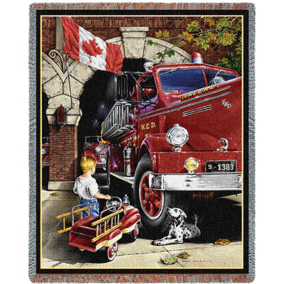 Canadian Childhood Dreams Blanket