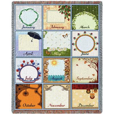 Family Calendar Blanket