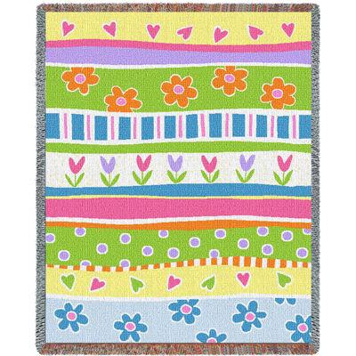 Garden Stripe Blanket
