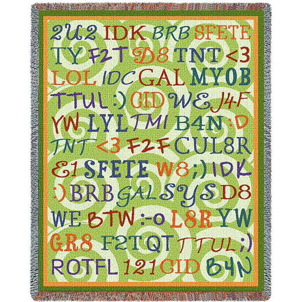 Tween Talk Blanket