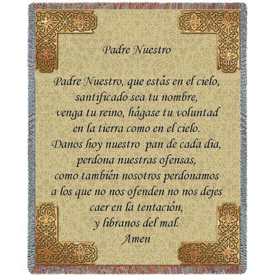 Lord's Prayer Spanish Blanket