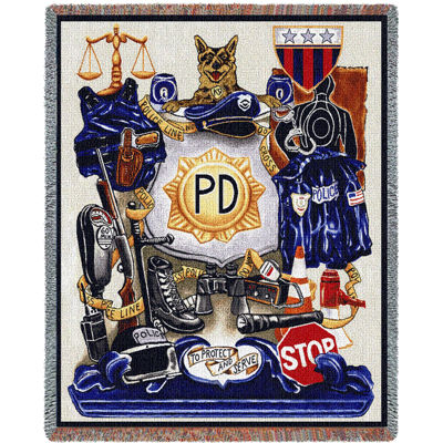 Policeman Pride Blanket
