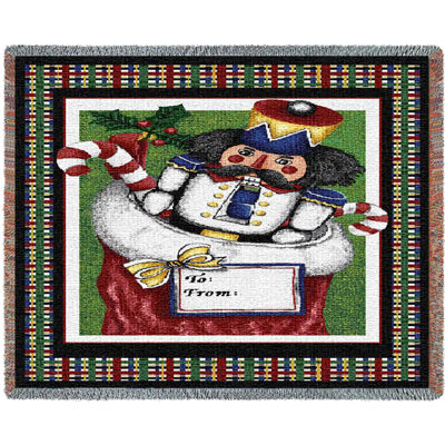 Nutcracker Mini Blanket