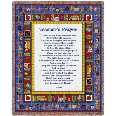 Teachers Prayer Blanket