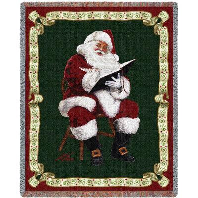 Santas Notes by Donald Zolan Blanket