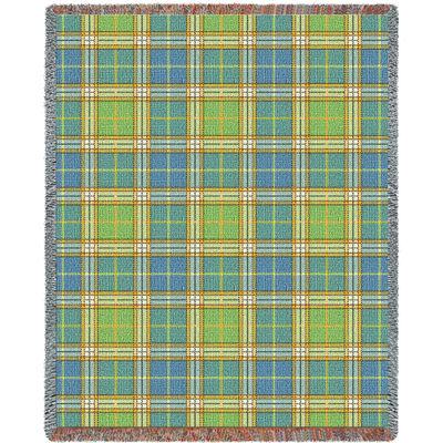 Freshwater Plaid Blanket
