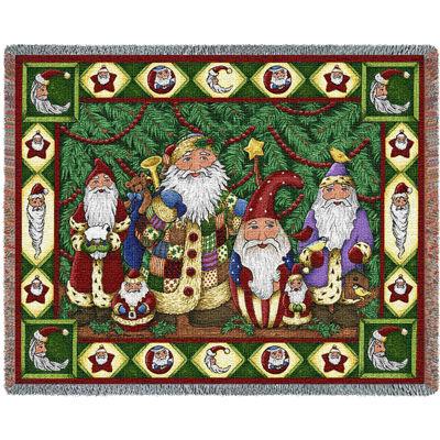 Santa Tree Blanket