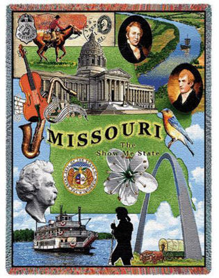 Missouri 2 Blanket