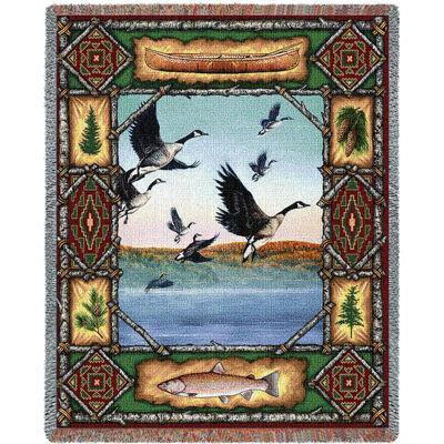 Geese Lodge Blanket