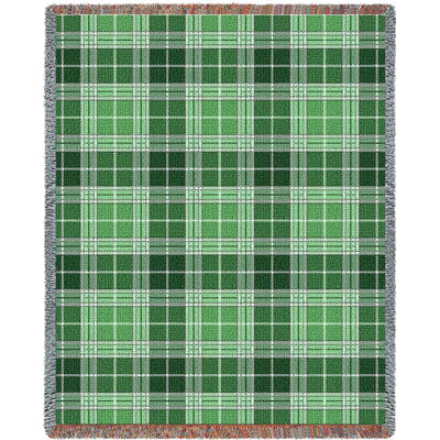 Heather Plaid Blanket