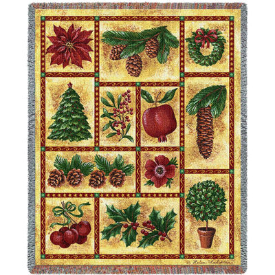 Images Of Christmas Blanket