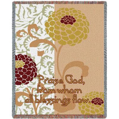 Chrysanthemums III Blanket