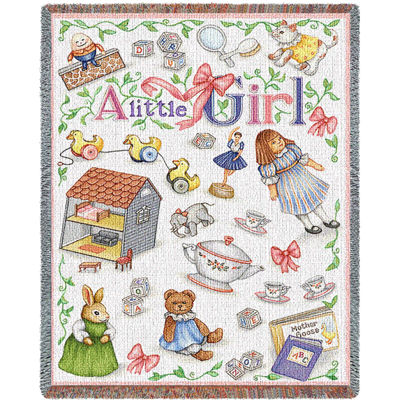 Little Girl Mini Blanket