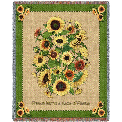 Memorial Sunflowers Blanket