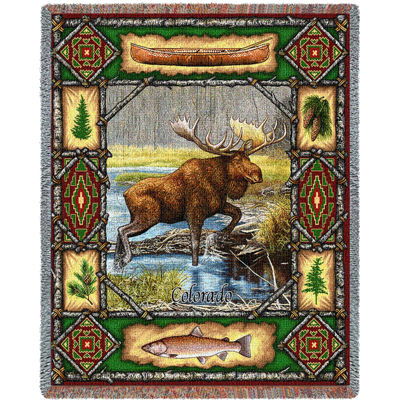 Moose Lodge Blanket