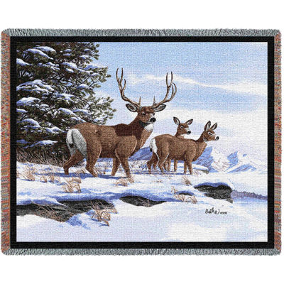 Mule Deer Blanket