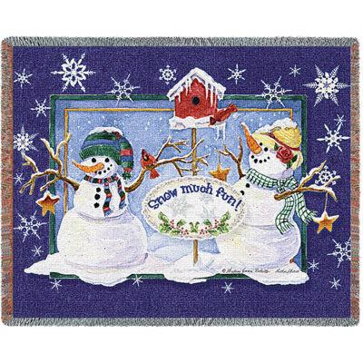 Snow Much Fun Blanket